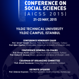 1st ANNUAL INTERNATIONAL CONFERENCE ON SOCIAL SCIENCES (AICSS 2015)-Opening Ceremony, 21 May 2015, 10 a.m., Auditorium, Yıldız Campus